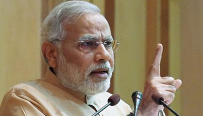 वाराणसी में PM मोदी ने कांग्रेस के 'गरीबी हटाओ' के नारे पर किया प्रहार