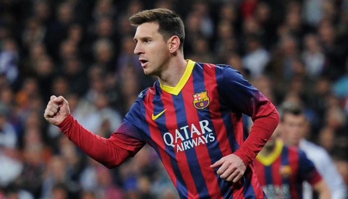 मेस्सी के दो गोल की मदद से बार्सीलोना जीता