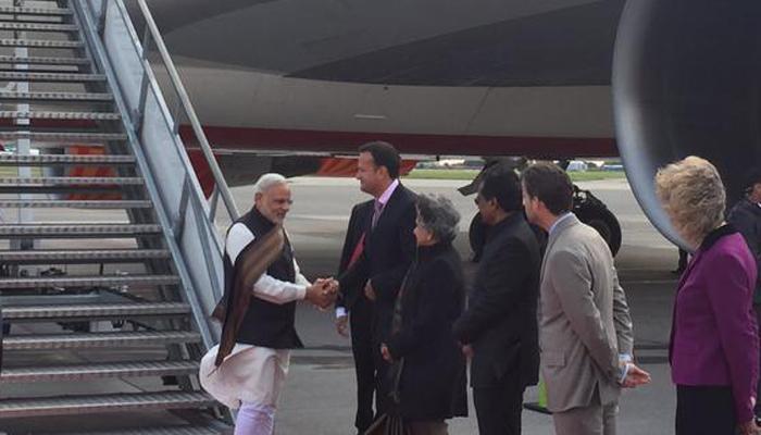 एकदिवसीय यात्रा पर आयरलैंड पहुंचे प्रधानमंत्री मोदी