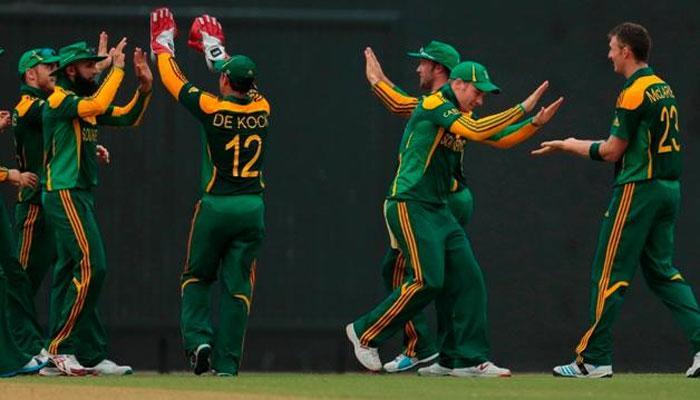 दक्षिण अफ्रीकी क्रिकेट टीम लंबी श्रृंखला के लिये दिल्ली पहुंची