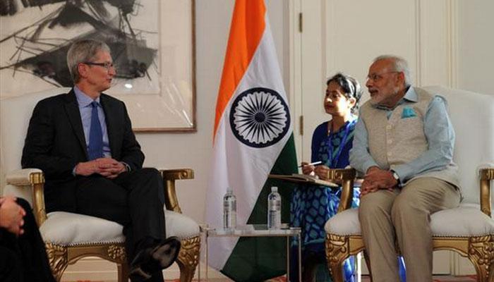 पीएम मोदी से बोले टिम कुक- एप्पल के संस्थापक स्टीव जॉब्स प्रेरणा लेने भारत आए थे