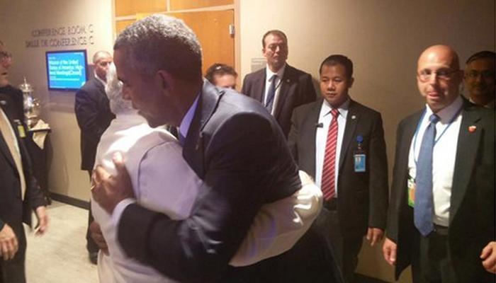 ओबामा से मिले पीएम मोदी, आर्थिक और जलवायु के मुद्दों पर हुई बातचीत