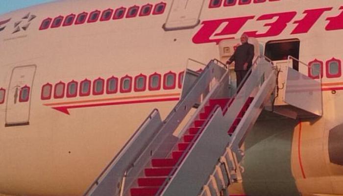 अमेरिका दौरे के बाद प्रधानमंत्री नरेंद्र मोदी स्वदेश लौटे