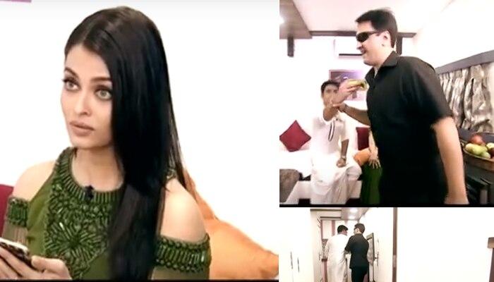 अविश्वसनीय: जब कॉमेडी किंग कपिल शर्मा को ऐश्वर्या के वैनिटी वैन से बाहर निकाला!