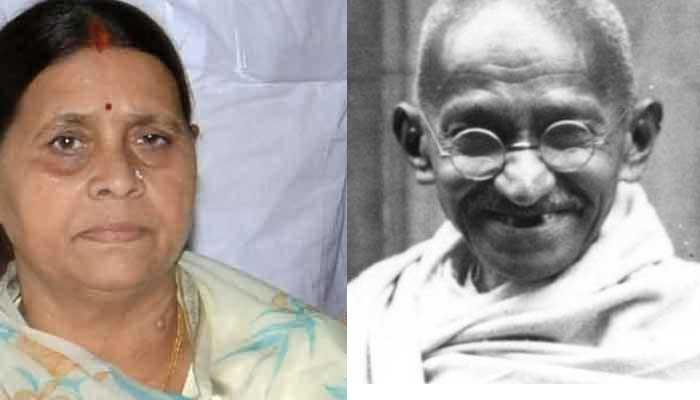 ...जब राबड़ी देवी ने गांधी जयंती पर 'बापू' को दी शुभकामनाएं