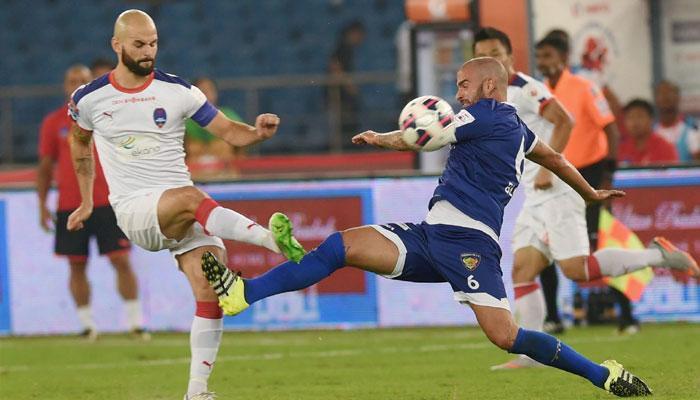 ISL फुटबॉल टूर्नामेंट: दिल्ली ने चेन्नई पर जीत से खाता खोला