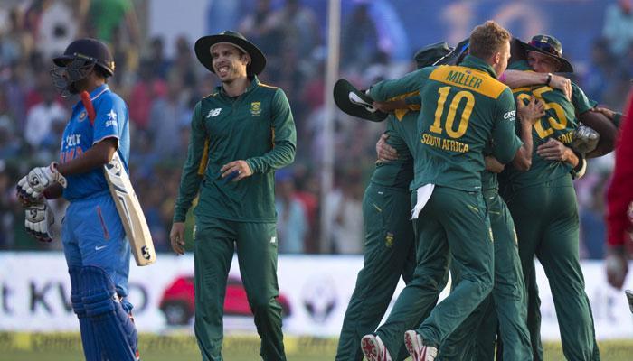 बेकार गया रोहित का दमदार शतक, दक्षिण अफ्रीका 5 रन से जीता