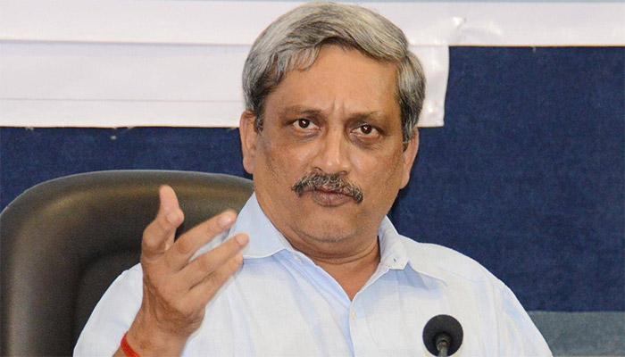 पाकिस्तान की हर हरकत का जवाब देने में सक्षम है भारत: रक्षामंत्री पर्रिकर