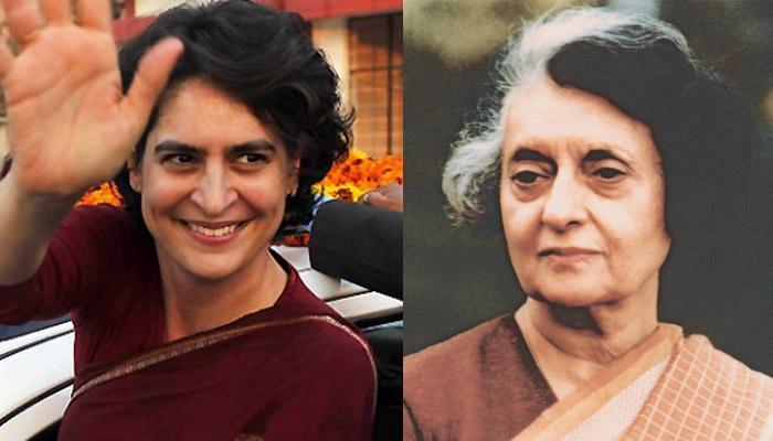कांग्रेस नेता का दावा- प्रियंका गांधी को अपना उत्तराधिकारी बनाना चाहती थीं इंदिरा गांधी