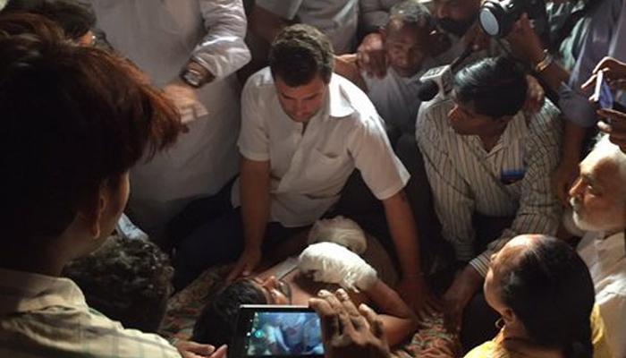 'गरीबों को दबाना चाहते हैं PM मोदी, RSS और बीजेपी'