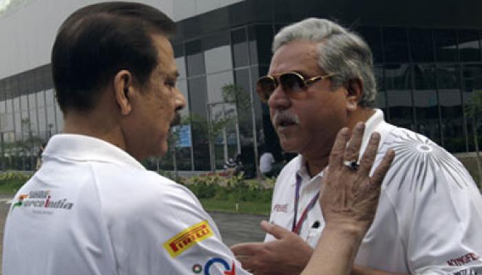 फोर्स इंडिया की सहारा के साथ है मजबूत साझेदारी : विजय माल्या