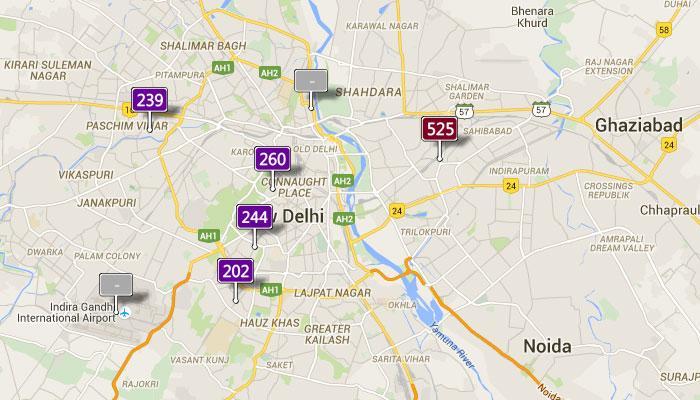 दीवाली के बाद दिल्ली में प्रदूषण का हाल जानिए LIVE
