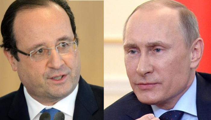 आईएस जिहादियों के खिलाफ 'समन्वित' हमले करने पर फ्रांस और रूस तैयार