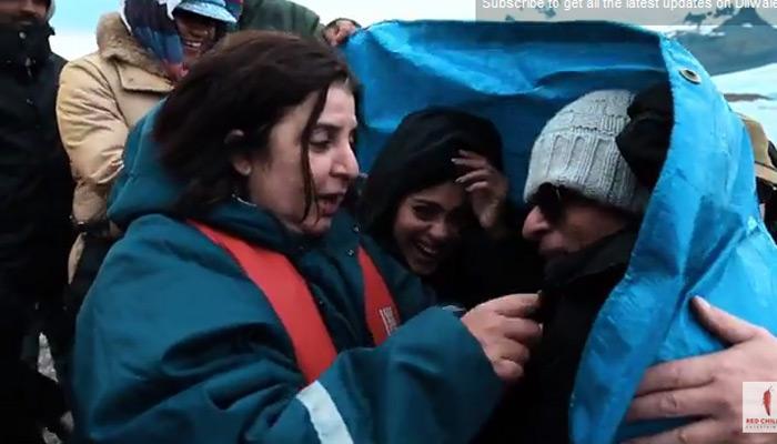 रंग दे तू मोहे गेरुआ का मेकिंग वीडियो, शाहरूख-काजोल ने की जमकर मस्ती