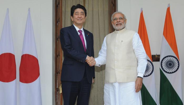 बुलेट ट्रेन, परमाणु ऊर्जा और रक्षा क्षेत्र में सहयोग करेंगे भारत-जापान, कई समझौतों पर किए हस्ताक्षर