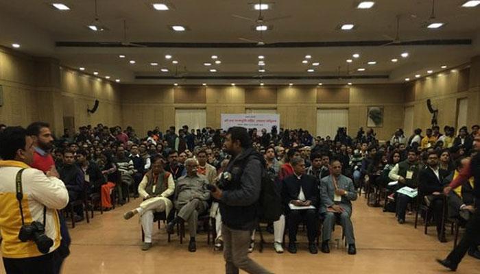 दिल्ली विश्वविद्यालय में राम मंदिर पर सेमिनार, कांग्रेस और वामपंथी छात्र संगठन कर रहे हैं विरोध