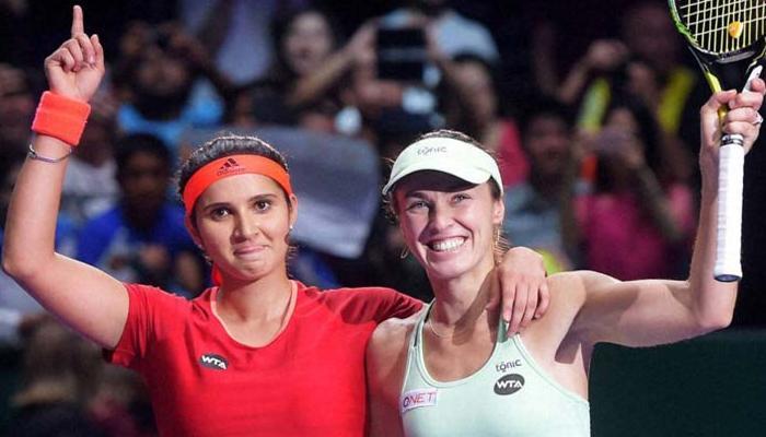 सानिया-हिंगिस की जोड़ी ने लगातार 29वां मैच जीतकर बनाया विश्व रिकार्ड