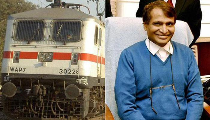 रेलमंत्री प्रभु अमेरिका दौरे पर, विश्व बैंक में 'भारत में रेल सुधार' पर किया चर्चा
