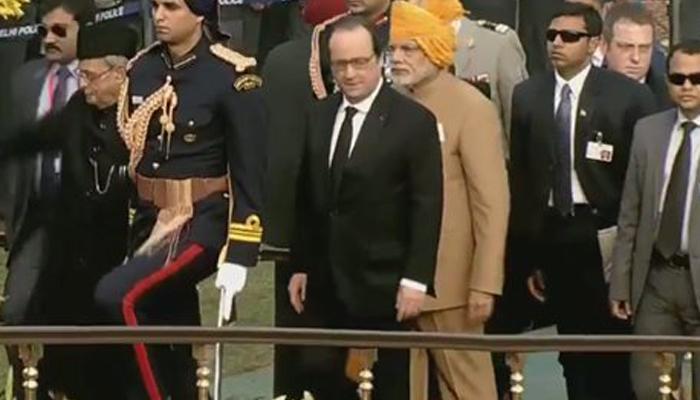 फ्रांस के शासन प्रमुख 5वीं बार बने गणतंत्र दिवस परेड के मुख्य अतिथि