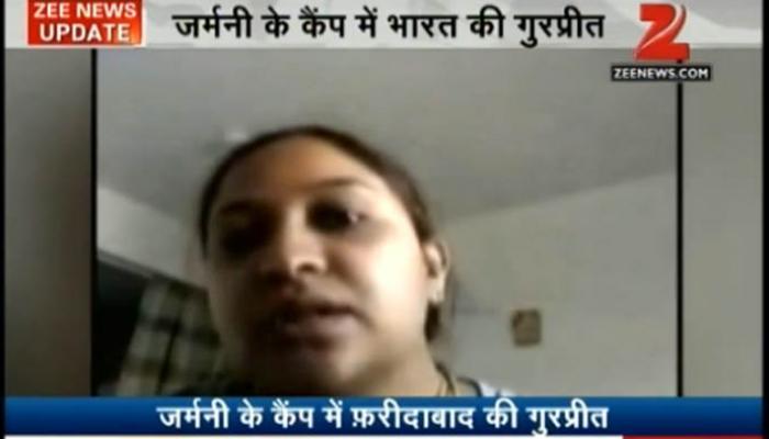 जर्मनी के कैंप में फंसी भारतीय महिला गुरप्रीत, सुषमा ने मदद का भरोसा दिया
