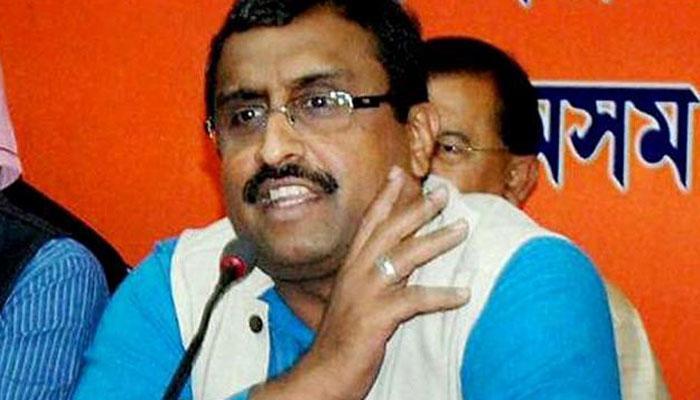 जम्मू-कश्मीर में सरकार गठन के लिये श्रीनगर में महबूबा से बात करेंगे राम माधव