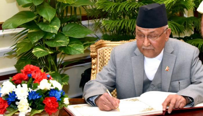 भारत-नेपाल के बीच स्वाभाविक सांस्कृतिक संबंध : केपी ओली