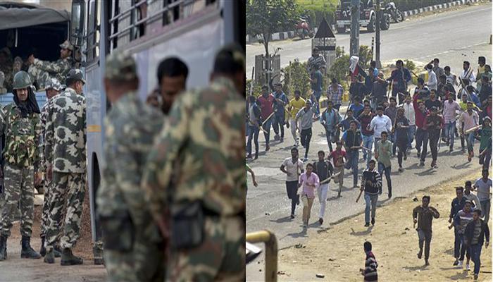 जाट आरक्षण आंदोलन : हरियाणा हिंसा पर राजनाथ के घर बैठक, खट्टर ने कहा-सरकार सभी मांगें मानने को तैयार