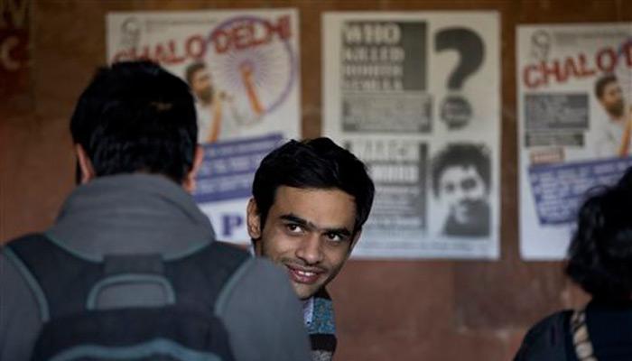 JNU देशद्रोह मामला: उमर और अनिर्बान ने किया सरेंडर, आज कोर्ट में होगी पेशी