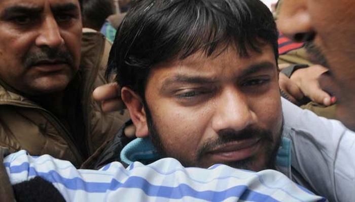 जेएनयू विवाद : दिल्ली पुलिस ने कन्हैया, उमर और अनिर्बान को एक साथ बिठाकर की पूछताछ