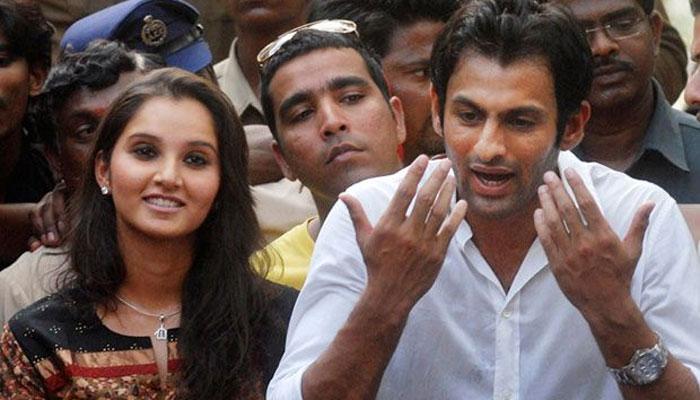 भारत-पाक मैच में सानिया मिर्जा के समर्थन पर बोले शोएब मलिक