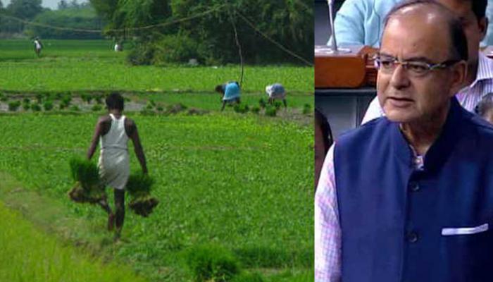 बजट 2016: किसानों पर मेहरबान हुए जेटली, कृषि क्षेत्र को 36,000 करोड़ रुपये देने का प्रस्ताव