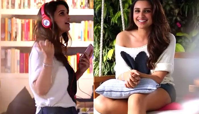 अभिनेत्री परिणीति चोपड़ा ने इस गाने को दी अपनी आवाज, हैरत में पड़े फैन्स- देखें VIDEO