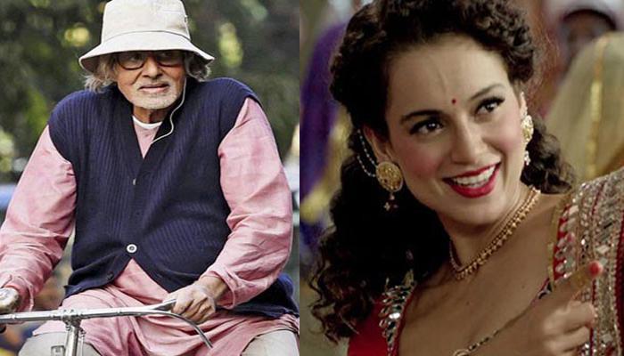 63वां राष्ट्रीय फिल्म पुरस्कारों की घोषणा, सर्वश्रेष्ठ अभिनेता चुने गए अमिताभ बच्चन, सर्वश्रेष्ठ अभिनेत्री बनीं कंगना
