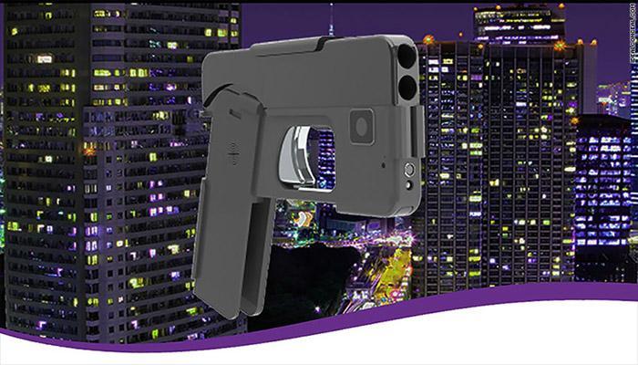 अमेरिकी कंपनी ने स्मार्टफोन आकार का पिस्तौल डिजाइन किया
