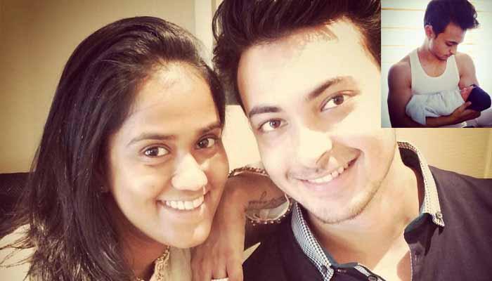 सलमान खान की बहन अर्पिता ने अब बेबी आहिल की फोटो पापा के साथ शेयर की- देखें pic