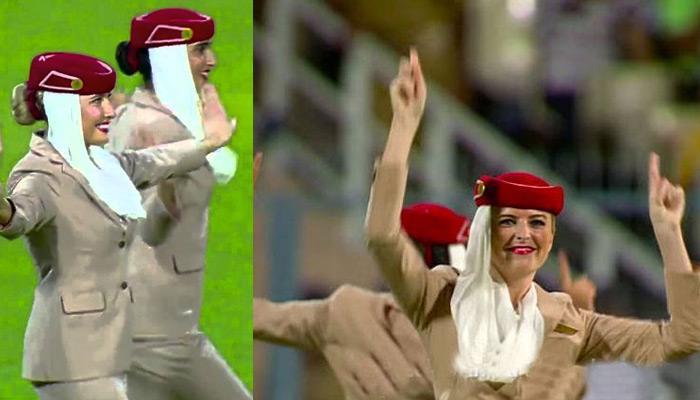 टी20 वर्ल्ड कप फाइनल: एयर होस्टेस का 'क्रिकेट डांस', वायरल हुआ वीडियो