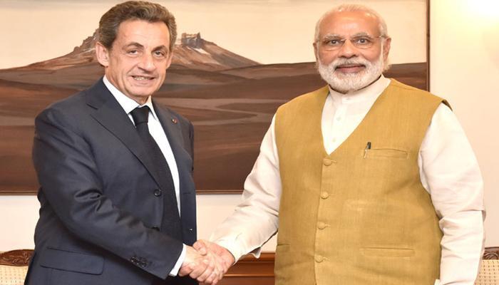 UNSC में भारत की स्थायी सदस्य की दावेदारी का सरकोजी ने किया समर्थन