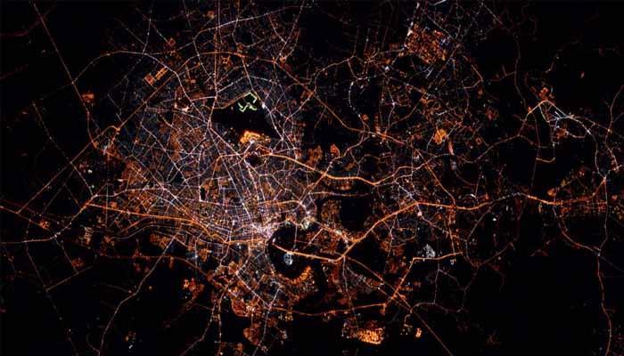 देखें तस्वीर: इंटरनेशनल स्पेस स्टेशन (ISS) से कुछ ऐसा नजर आता है बैंकॉक