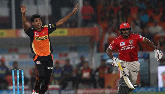 IPL 2016 : सनराइजर्स हैदराबाद ने किंग्स इलेवन पंजाब को 5 विकेट से हराया
