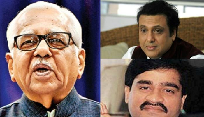 यूपी के राज्यपाल राम नाइक का आरोप- 'गोविंदा ने चुनाव में मुझे हराने के लिए ली थी दाउद इब्राहिम की मदद'