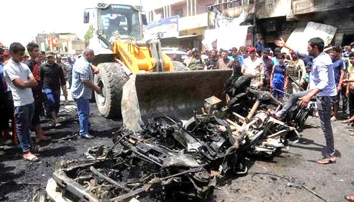 बगदाद में कार बम धमाकों में 94 लोगों की मौत
