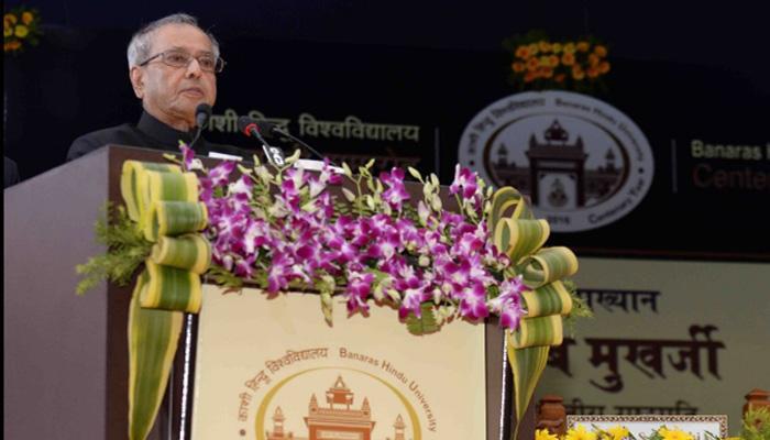 हम खोखले दावों और नारों से प्रतिस्पर्धा नहीं कर सकते: राष्ट्रपति प्रणब मुखर्जी