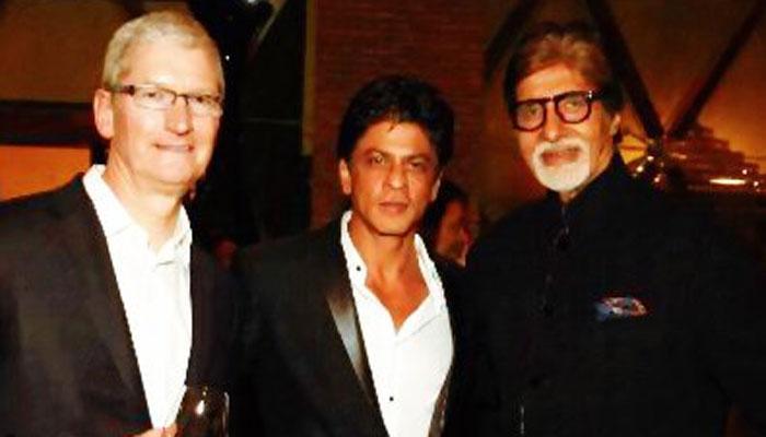 शाहरुख की पार्टी में शरीक हुए APPLE के सीईओ टिम कुक; अमिताभ समेत कई हस्तियों ने की शिरकत, देखें तस्वीरें