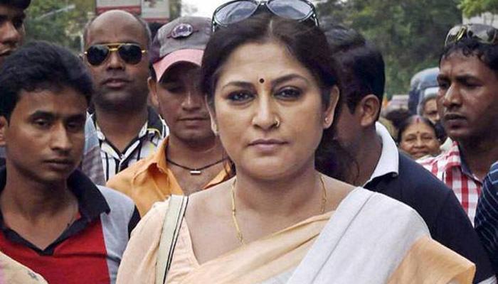अभिनेत्री और भाजपा नेता रूपा गांगुली पर हमला, अस्पताल में भर्ती