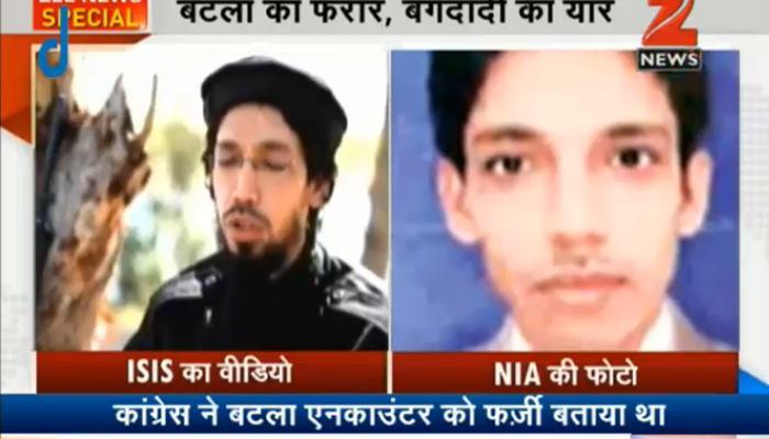 ISIS के वीडियो में नजर आया बटला हाऊस एनकाउंटर का संदिग्ध अबु राशिद, साजिद