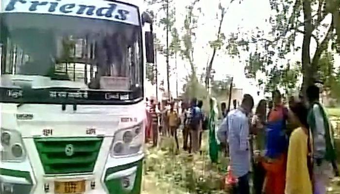 हरियाणा: फतेहाबाद में एक प्राइवेट बस में धमाका, दो लोग घायल