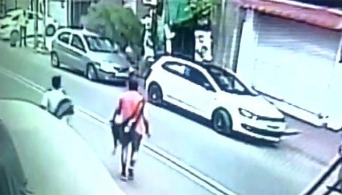 निकले थे सुबह की सैर पर और मिली मौत: नशे में धुत युवक ने कार से दो लोगों को कुचला, हादसे का VIDEO देख दहल जाएंगे आप