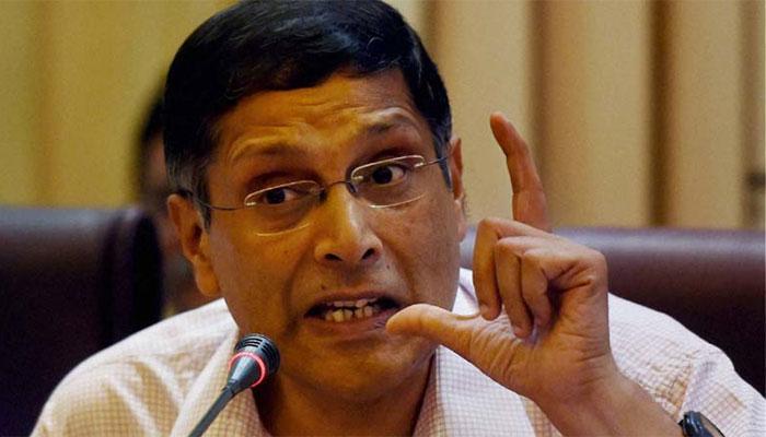 स्वामी का विरोध, सरकार मुख्य आर्थिक सलाहकार अरविंद सुब्रमण्यम के साथ