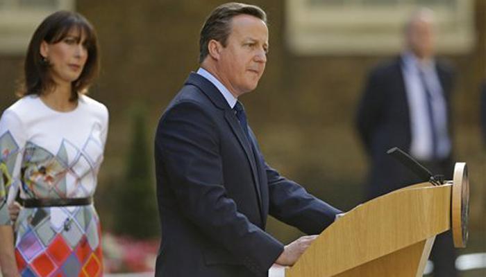 डेविड कैमरन ने इस्तीफे की घोषणा की, बोले-ब्रिटेन का जिम्मा नए पीएम को मिलेगा
