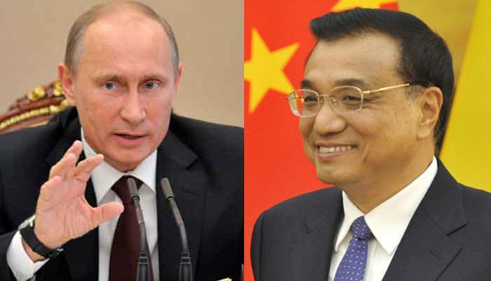 चीन प्रधानमंत्री ली केकियांग से मिले रूसी राष्ट्रपति व्लादिमीर पुतिन
